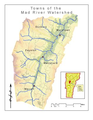 MRV Watershed Map